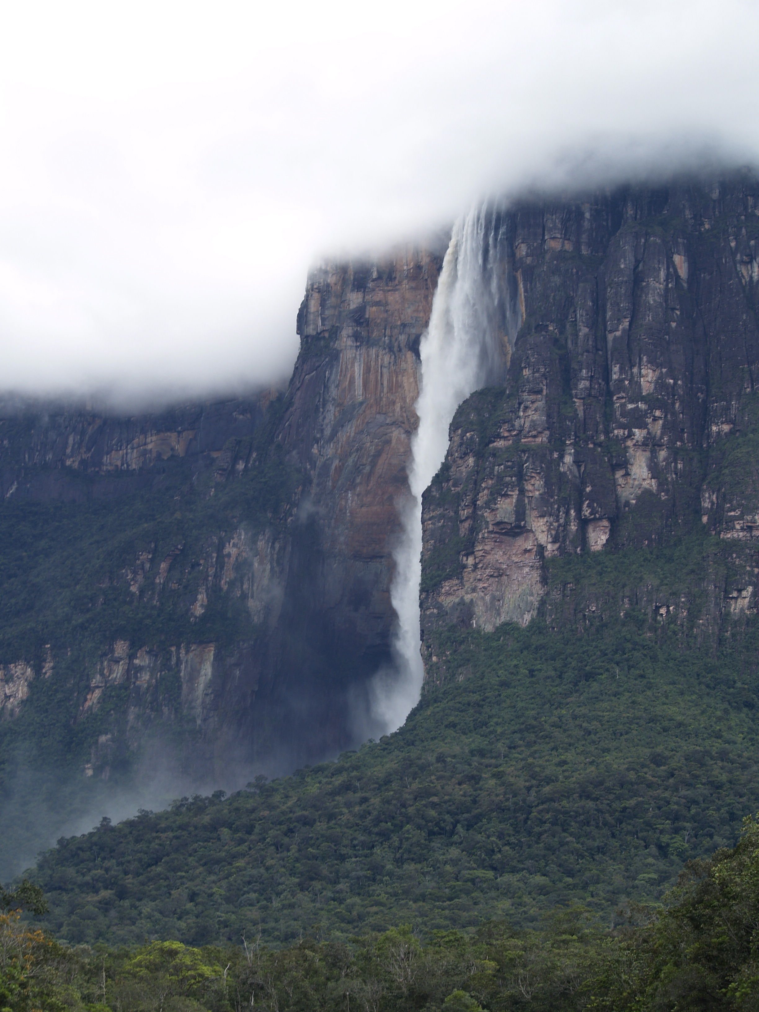 angel falls, canaima national park, venezuela, canaima, waterfall