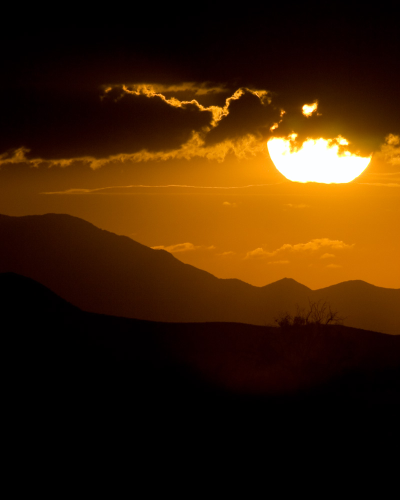 dragoon mountains, sunset, arizona, coronado national forest