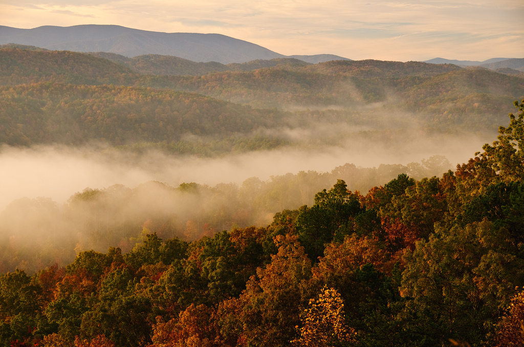 foot hills parkway, great smoky mountains national park