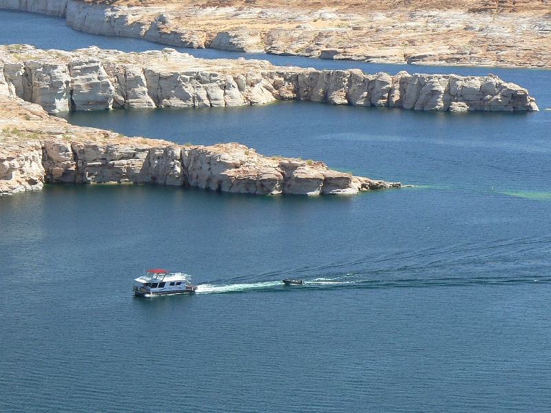 glen canyon, glen canyon national recreation area, utah, canyon, boat