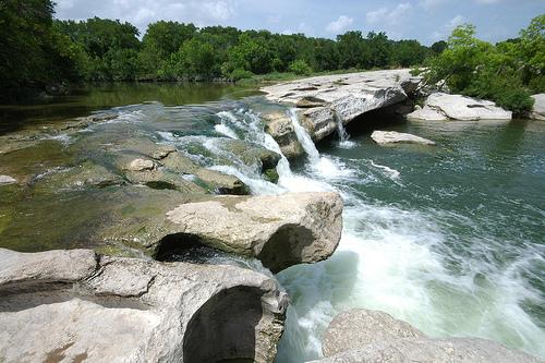 mckinney falls state park, texas,waterfall